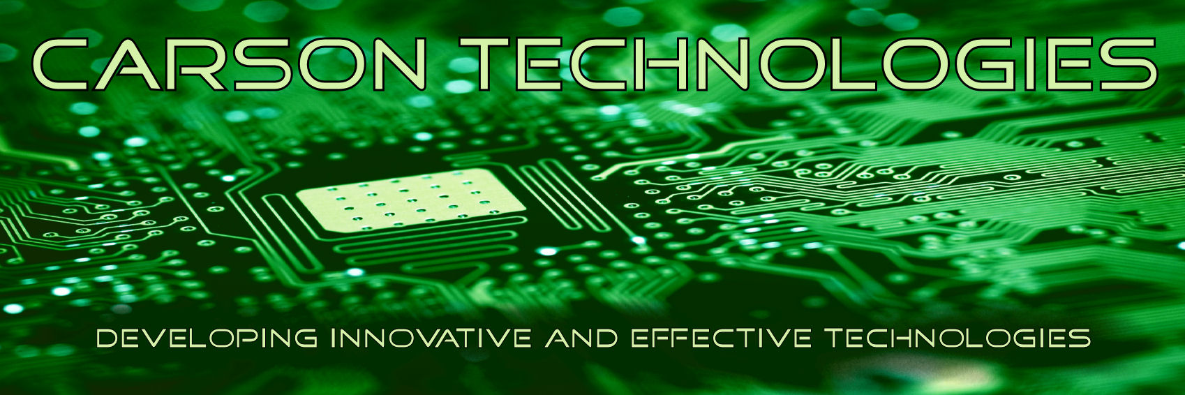 Carson Technologies - Developing Innovative and Effective Technologies